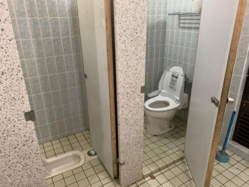 木魂の里のトイレ2