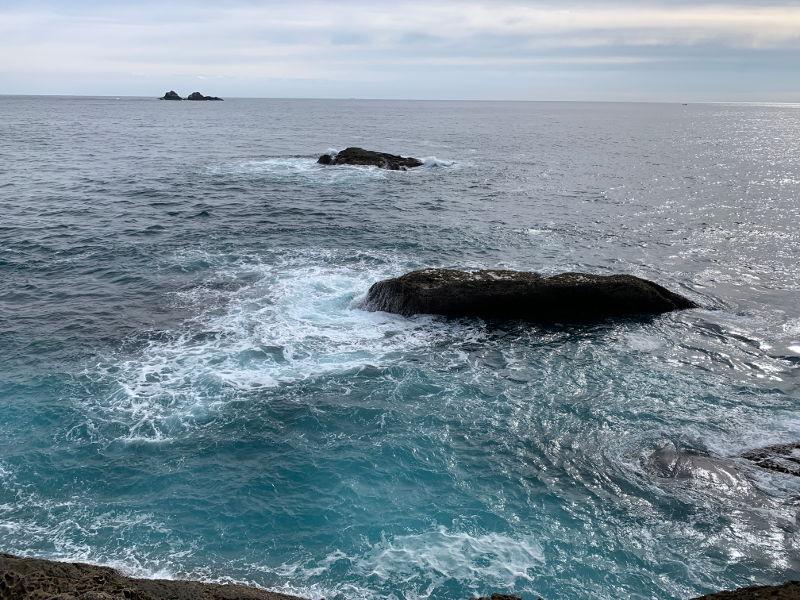鬼ヶ城からみる海