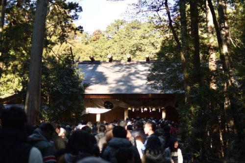 椿大神社の混雑1