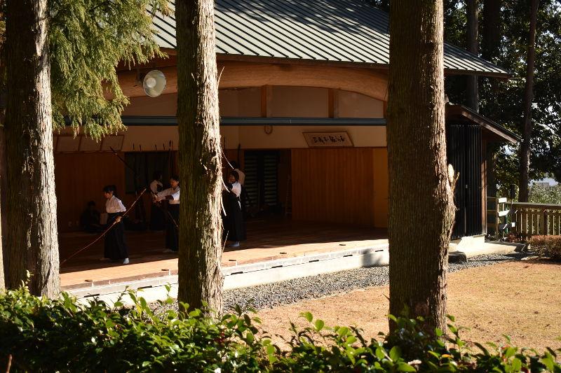 椿大神社の弓道場1