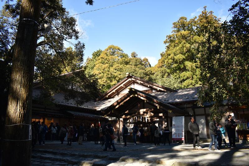 椿大神社の社務所