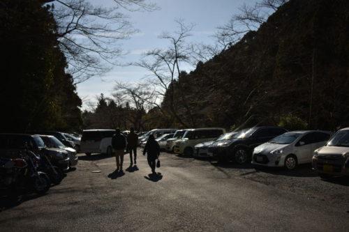 椿大神社の駐車場