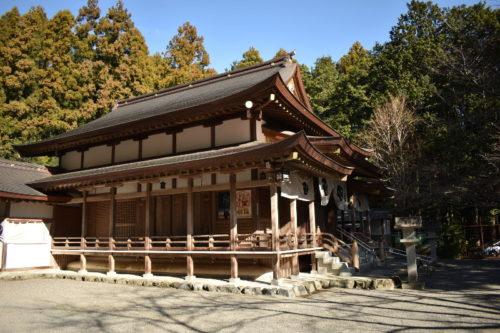 椿大神社の弓道場3