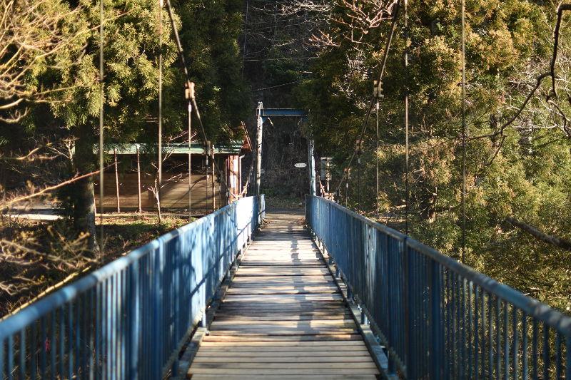 竜ヶ岳登山口に繋がる橋