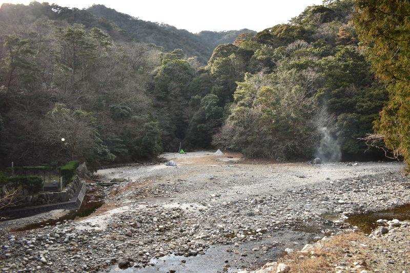 宇賀渓キャンプ場の全体写真1