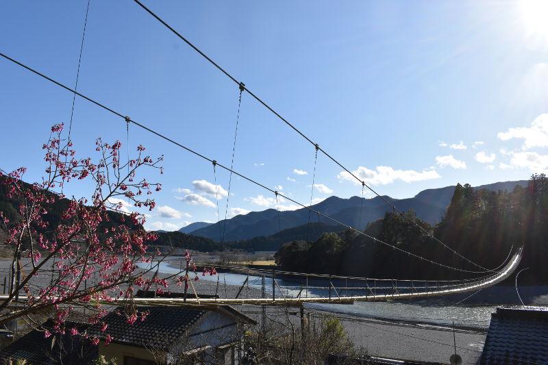 塩郷の吊り橋アイキャッチ