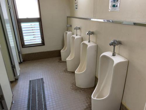 浩庵キャンプ場のトイレ内1