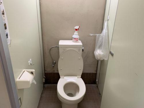 浩庵キャンプ場のトイレ内2
