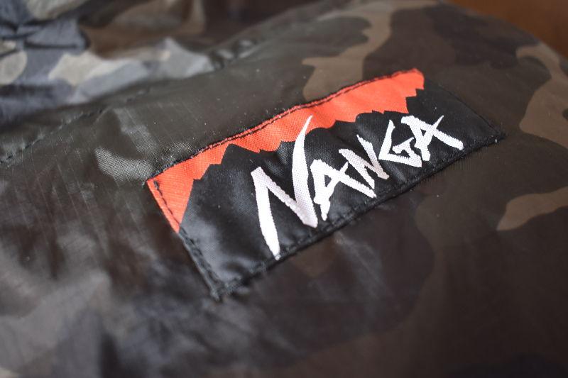 山渓×NANGA オーロラ600DX CAMOのロゴ