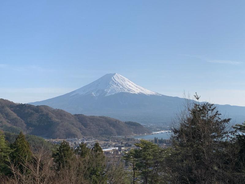 RetreatCampまほろばMt.Fujiサイトからの眺め
