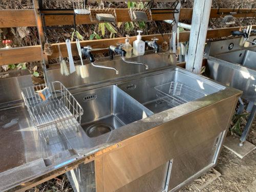 RetreatCampまほろばの洗い場