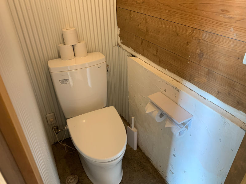 RetreatCampまほろばのトイレ