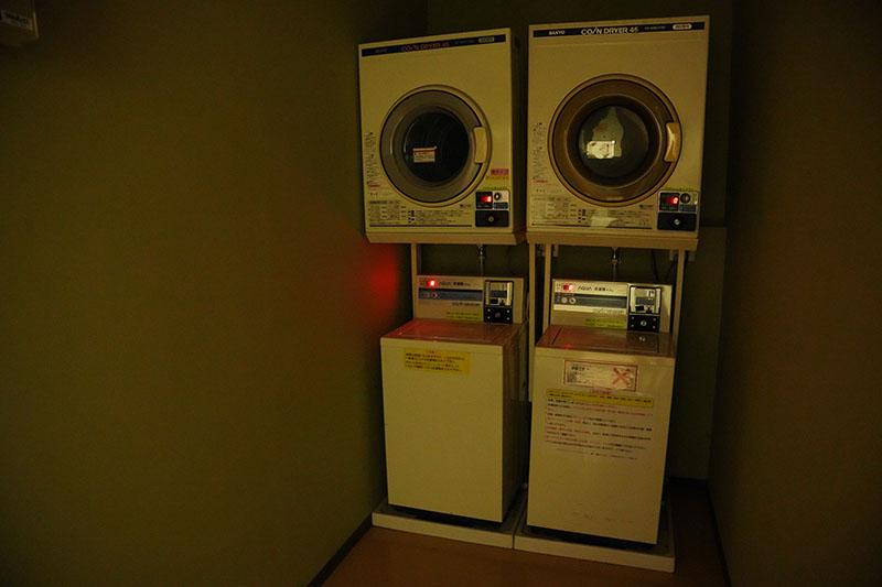 レイクロッジヤマナカの洗濯機