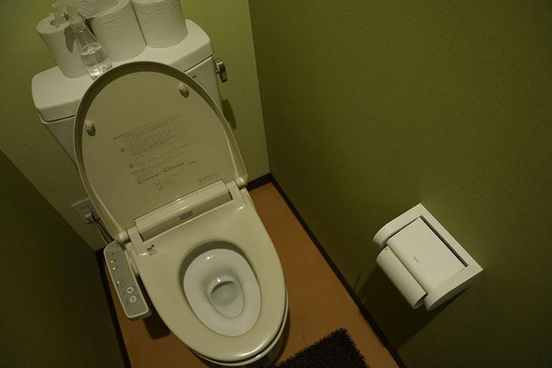レイクロッジヤマナカのトイレ