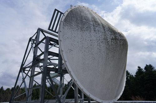 富士山レーダードーム博物館のレーダー